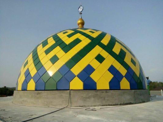 Kubah Masjid Enamel Dan Galvalum Murah