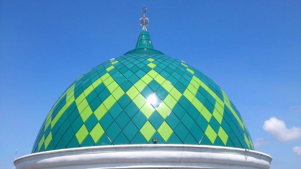 Harga Kubah Masjid Enamel Desain Modern